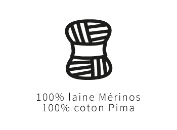 100% laine mérino